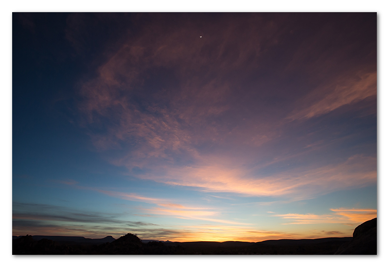 Peter Dawson Photography - Namibian sunset
