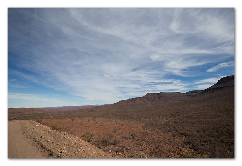 Peter Dawson Photography - Namibian sky scape