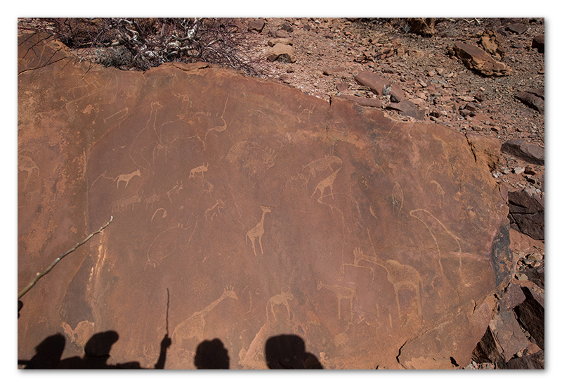 Peter Dawson Photography - Twyfelfontein bushman rock art