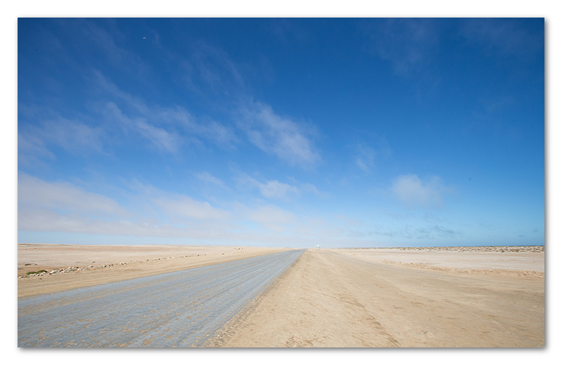 Peter Dawson Photography - namibian desert road