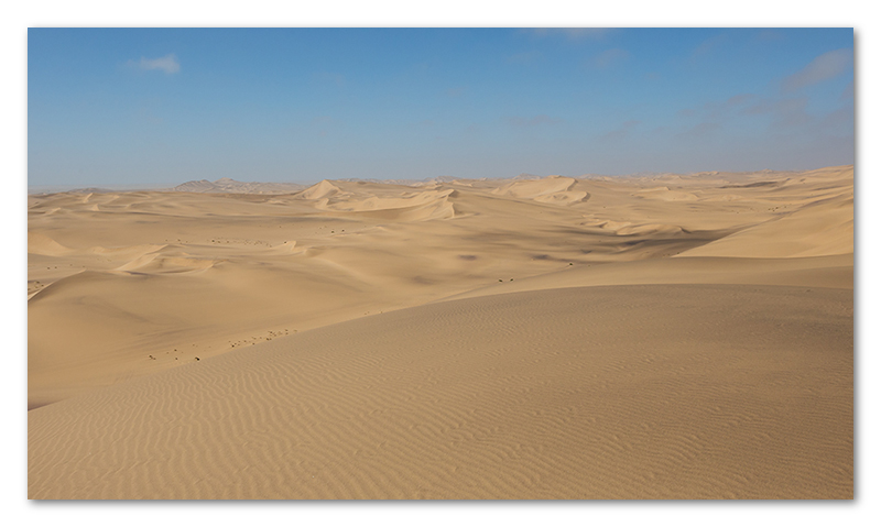 Peter Dawson Photography - Namibian sand dunes Walvisbaai