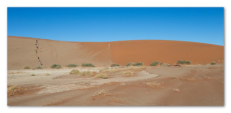 Peter Dawson Photography - Sossus vlei sand dunes